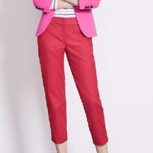 Boden Cropped Pink Trouser Pants